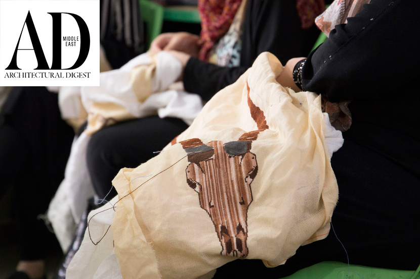 AD Middle East: This initiative is empowering refugee women through the art of tatreez